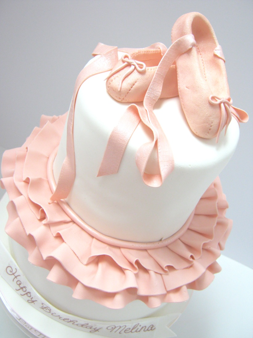 11 Ballerina Birthday Cakes For Girls Photo Ballerina Birthday