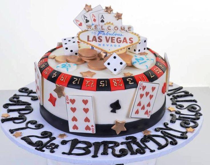13 Las Vegas Birthday Cupcakes Photo