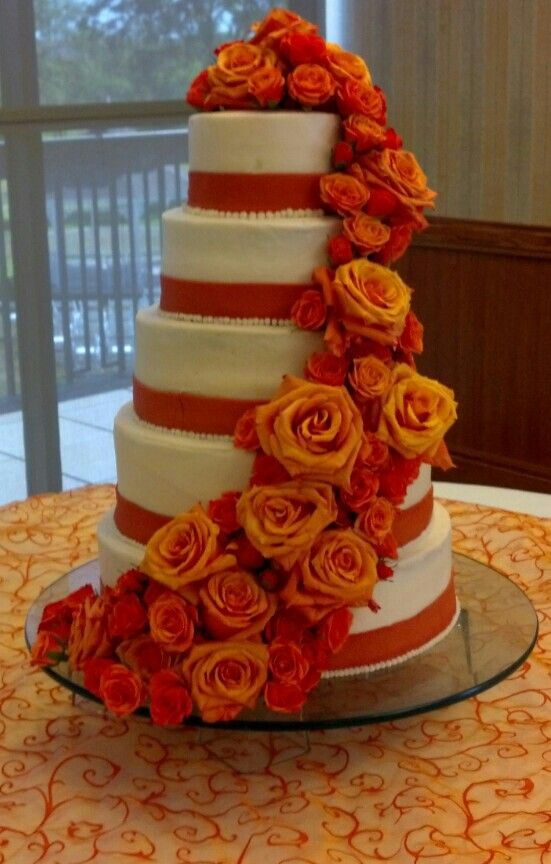 7 Burnt Orange And Brown Wedding Cupcakes Photo - Brown and Burnt ...