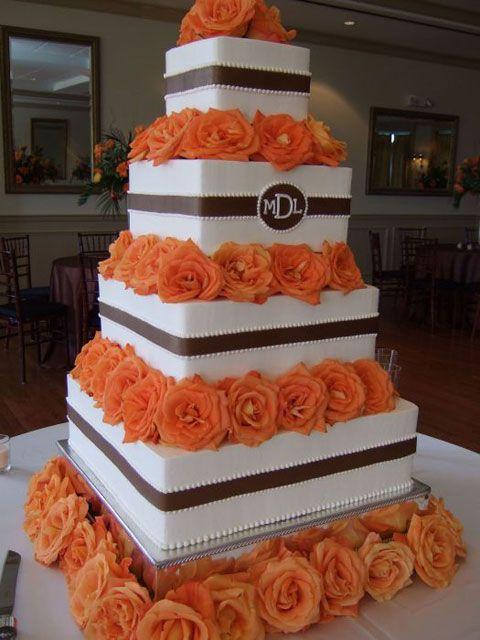 7 Burnt Orange And Brown Wedding Cupcakes Photo - Brown and Burnt ...
