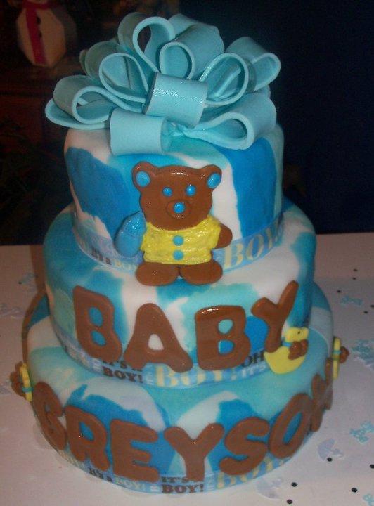 12 Blue Camo Baby Shower Cakes Photo Camo Baby Shower Cake Blue