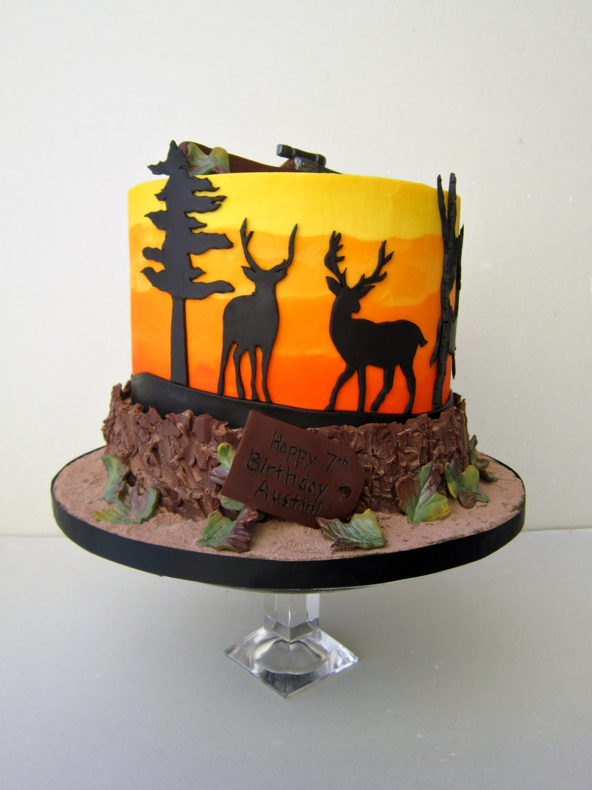 12 Deer Hunting Cakes For Boys Photo Deer Hunting Camouflage Cake