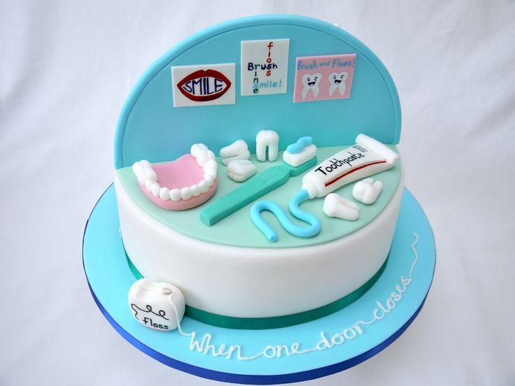 11 Dental Happy Birthday Cakes Photo Happy Birthday Dental Cake