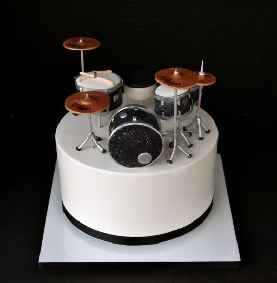 Tremendous 12 Drum Cakes No Fondant Photo Drum Birthday Cake Drum Set Cake Funny Birthday Cards Online Bapapcheapnameinfo