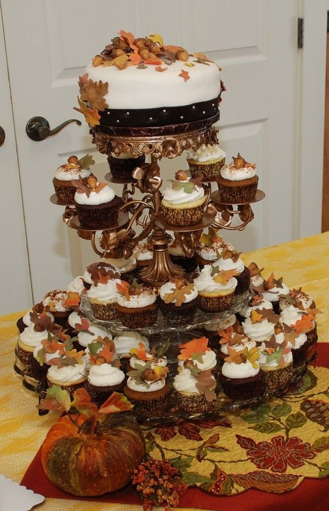 11 Small Wedding Cakes Fall Theme Photo - Fall Wedding Cake Ideas ...