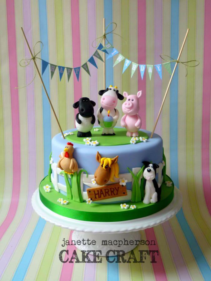 Childrens Birthday Cake Ideas Animals Childrens Birthday Cake Ideas