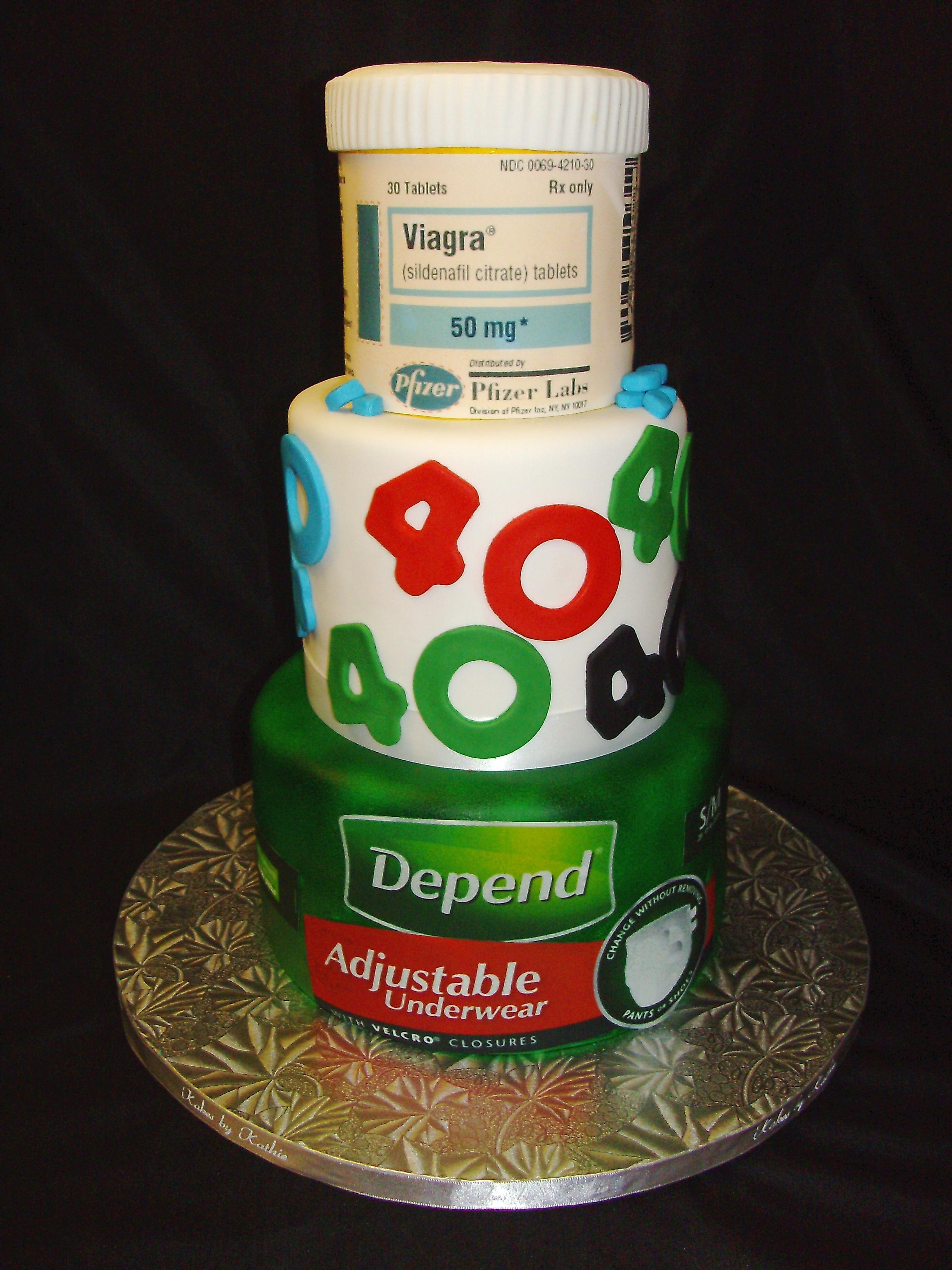 10 Funny 40th Birthday Cakes Ideas Photo Funny Birthday Cake