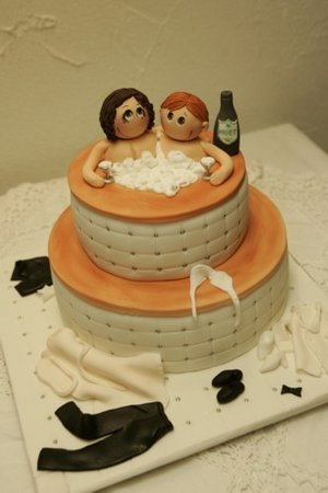 Funny Wedding Anniversary Cake