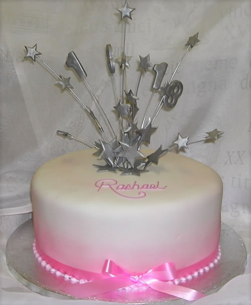 9 Birthday Cakes For Girls 18 Photo 18th Birthday Cake Ideas for