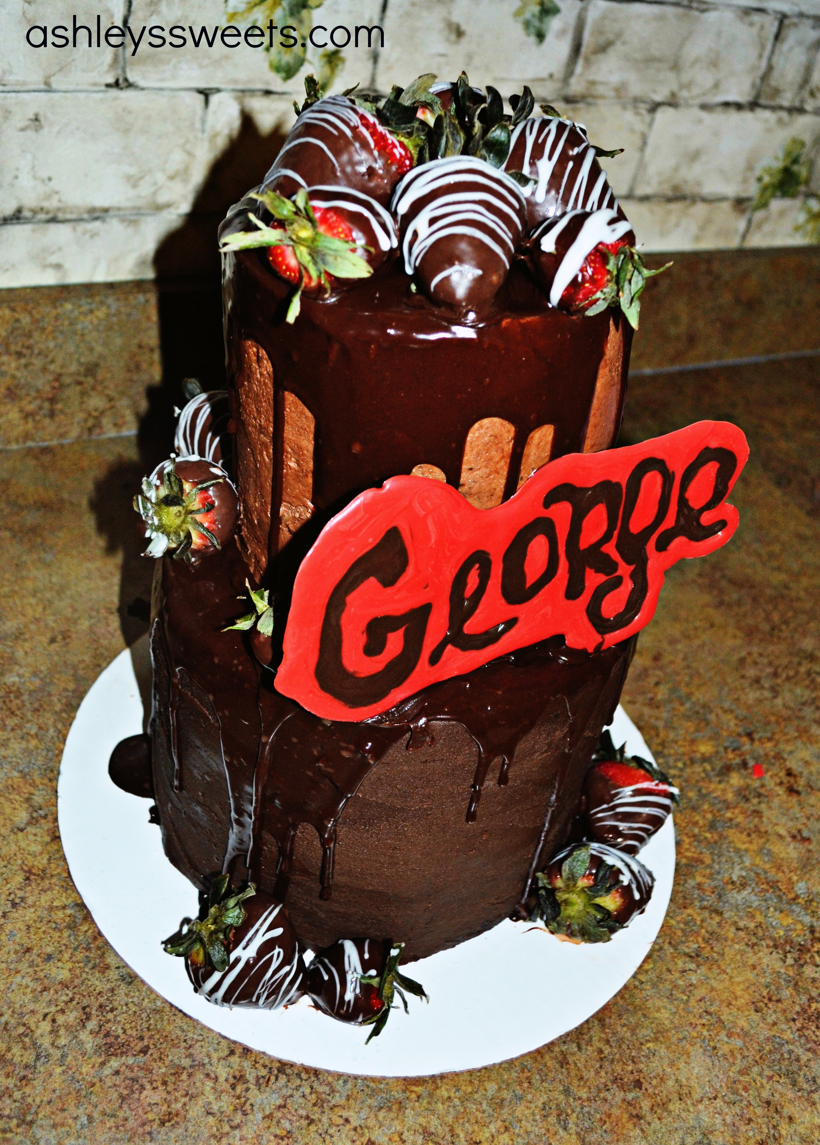 10 Georg The Birthday Cakes With Name Photo Happy Birthday George