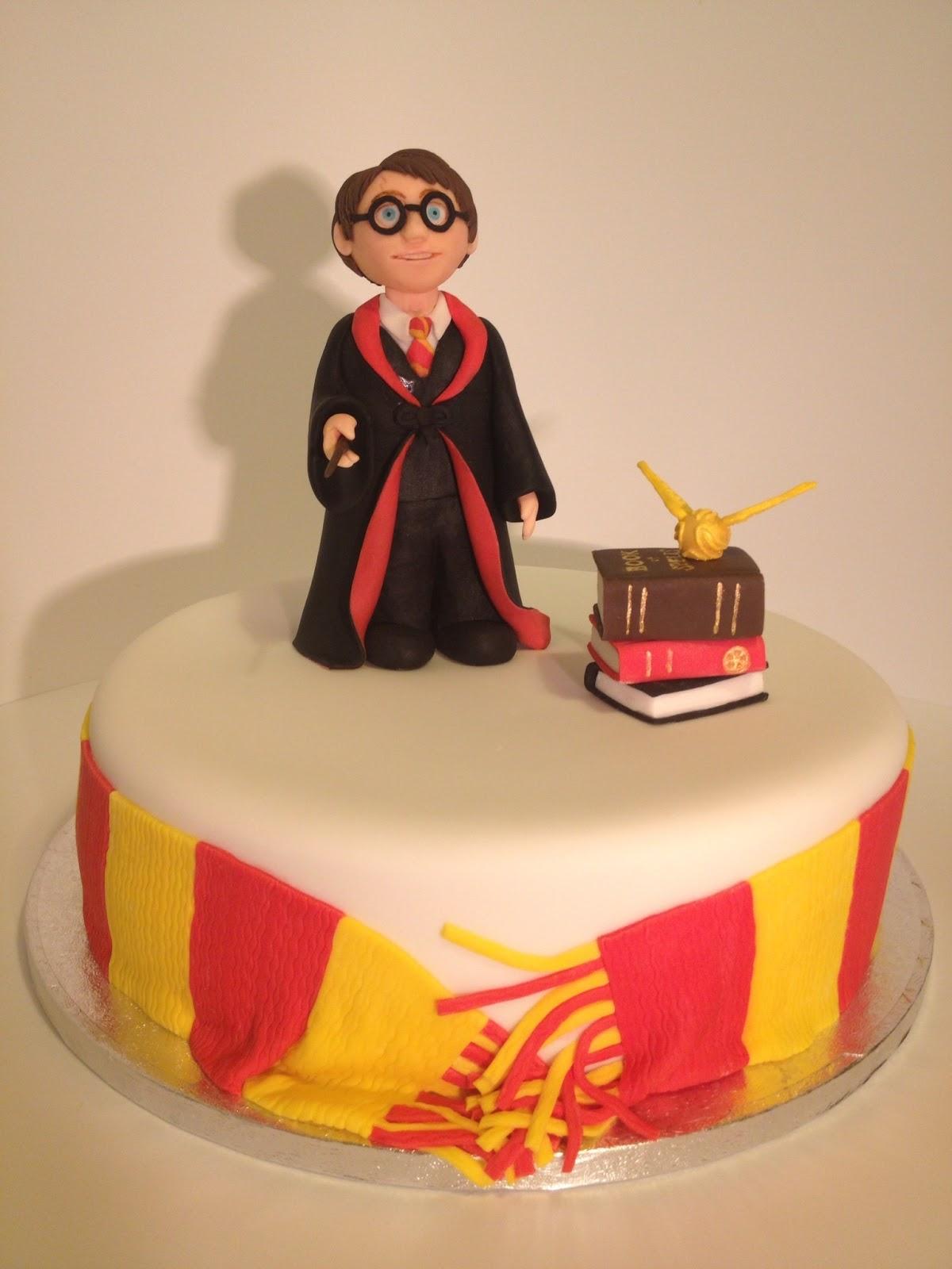 8 Harry Potter Face Buttercream Cakes Photo Harry Potter Cake