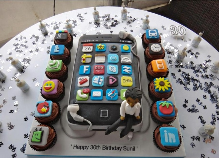 11 IPhone Birthday Cakes For Men Photo iPhone Birthday Cake