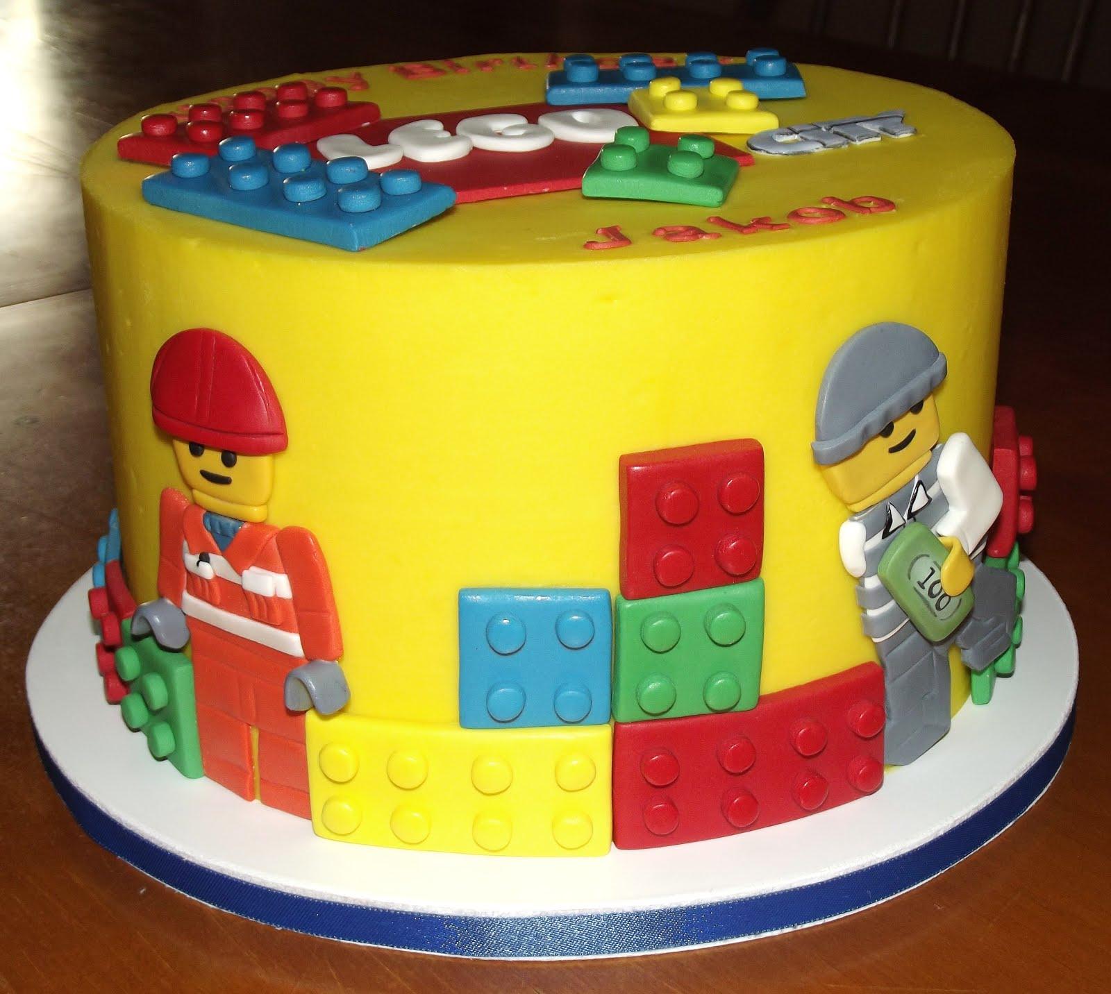 12 Lego City Birthday Cakes Photo Lego City Birthday Cake Ideas