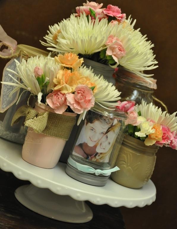 9 Mason Jar Wedding Shower Cakes Ideas Photo Mason Jar Cupcake