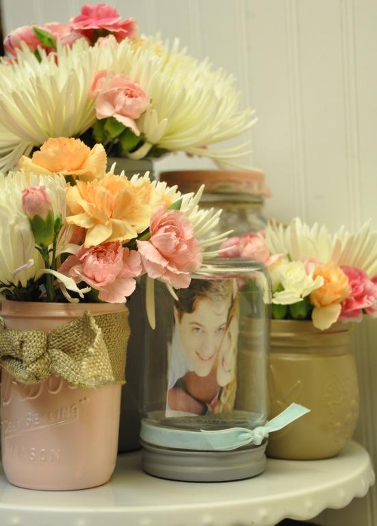 mason jar bridal shower ideas