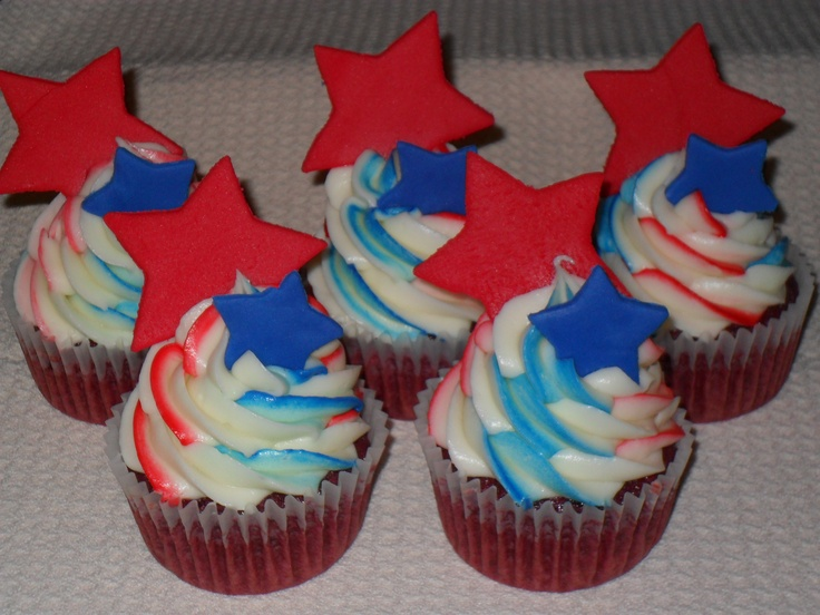 5 Photos of Memorial Day Cupcakes And Cookies