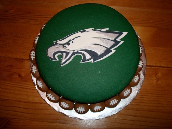 Groovy 11 Pintrest Eagles Cakes Photo Philadelphia Eagles Birthday Cake Funny Birthday Cards Online Overcheapnameinfo