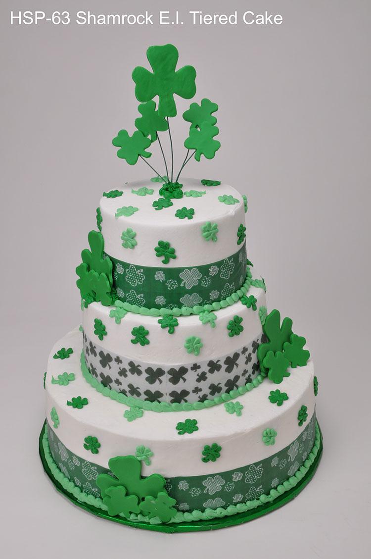 Awesome 11 Irish Birthday Sheet Cakes Photo St Patricks Day Wedding Birthday Cards Printable Trancafe Filternl