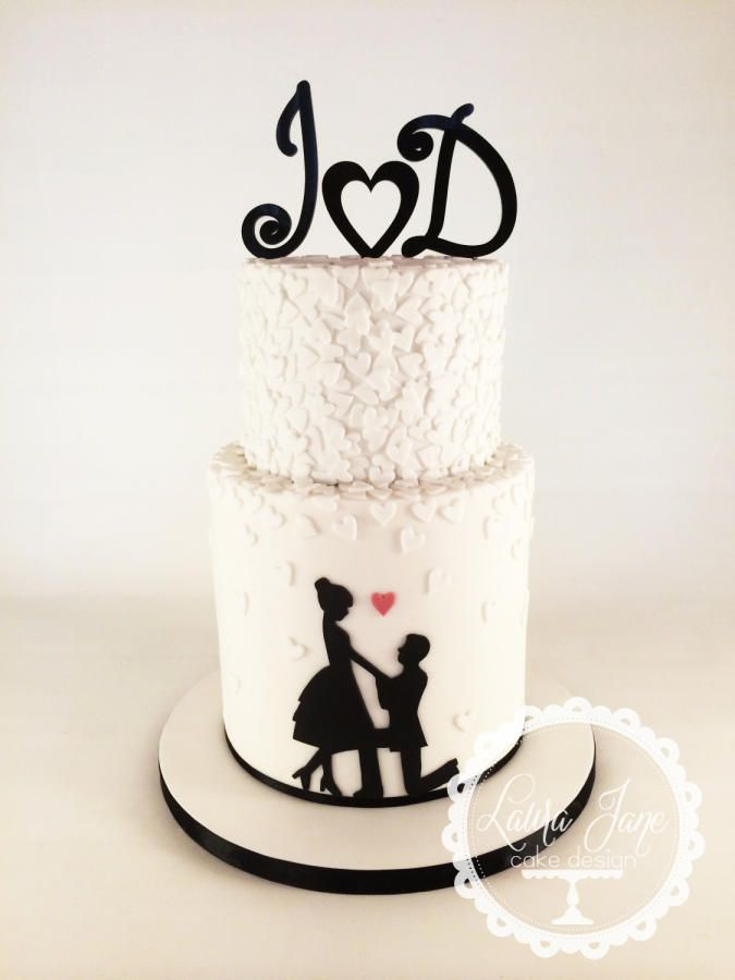 10 Photos of Engagement Love Cakes