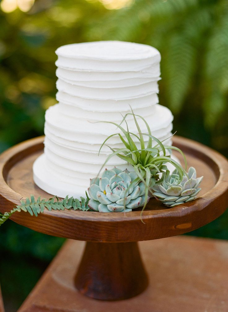 12 Plain Two Layer Wedding Cakes Photo - Simple Two Tier Wedding ...