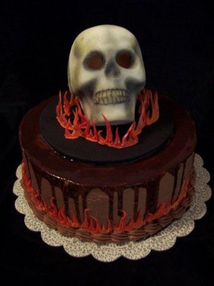 Awe Inspiring 11 Teen Birthday Cakes Skull Photo Skull Birthday Cake Sugar Funny Birthday Cards Online Barepcheapnameinfo