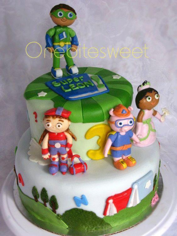 11 Wyatt Super Why Cakes Photo Super Why Birthday Cake Super Why