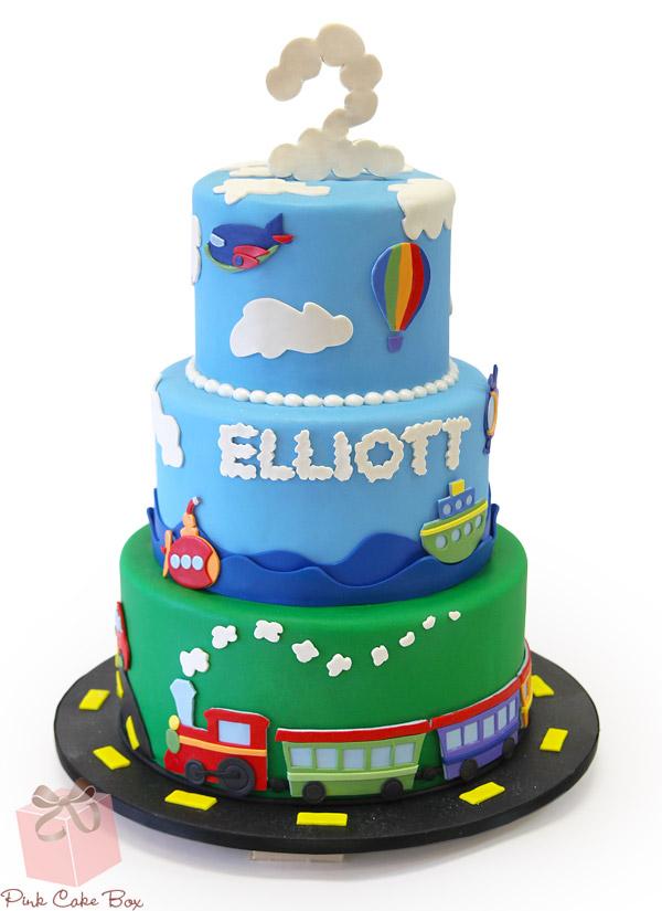 Strange 9 Birthday Cakes Train And Car Photo Train Birthday Cake Idea Personalised Birthday Cards Arneslily Jamesorg
