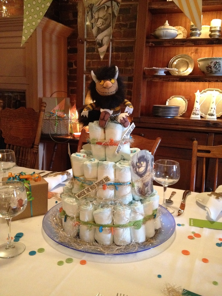 Where The Wild Things Are Baby Shower Cake