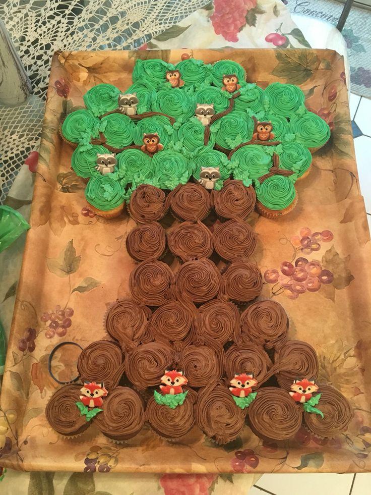 Family Tree Baby Shower Cake