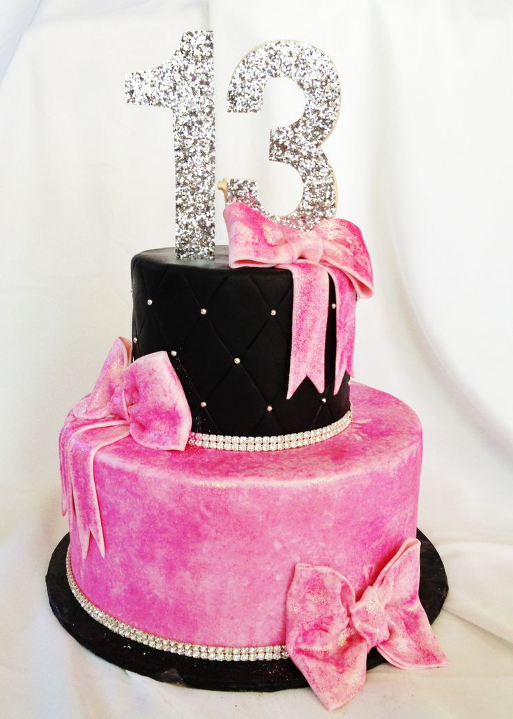 12 Cute 13th Birthday Cakes Photo Cute 13th Birthday Cakes For