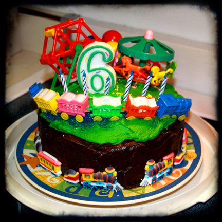 9 Birthday Cakes For 1 To 6 Years Photo 6 Year Old Boy Birthday