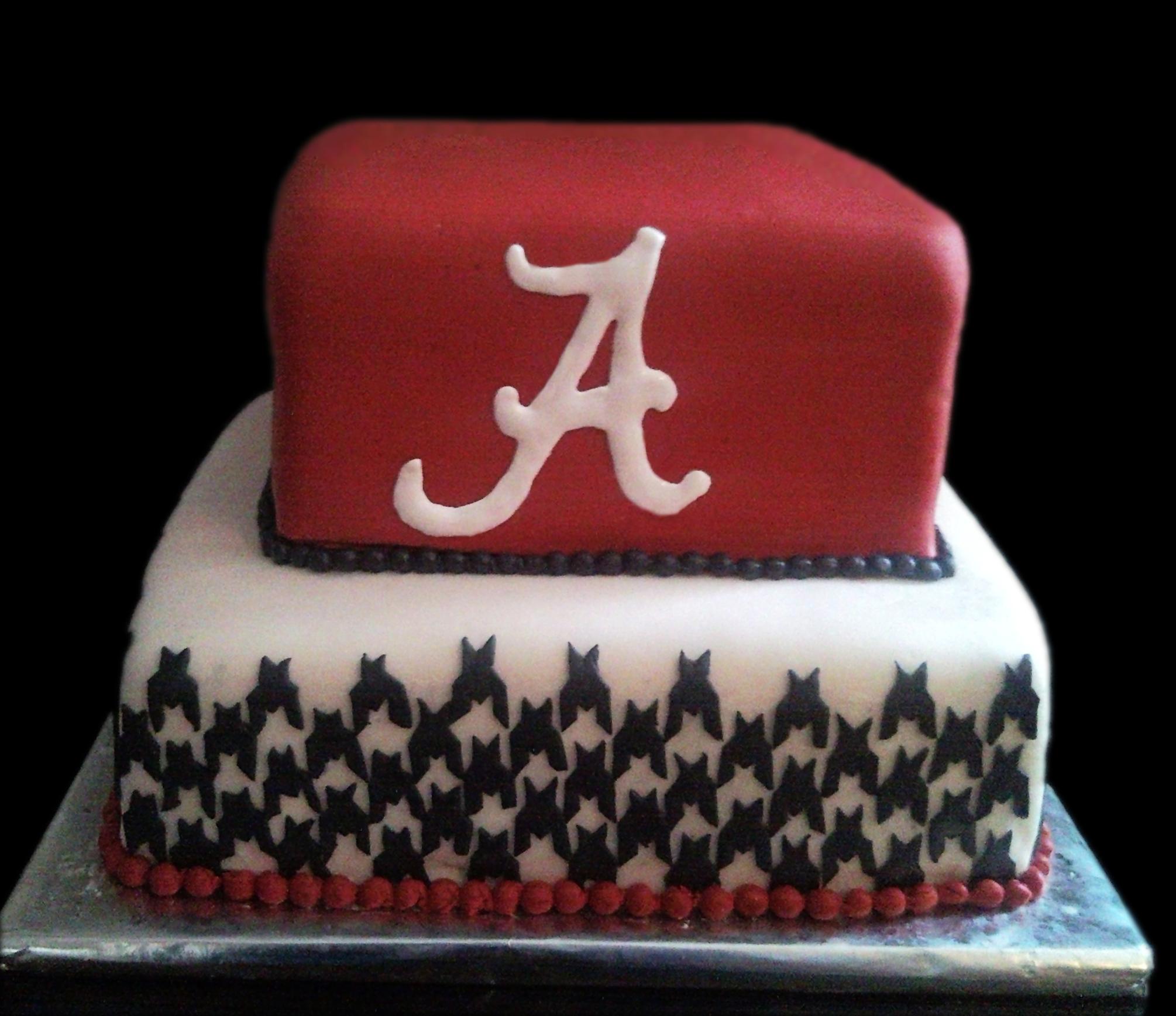 12 University Of Alabama Cakes Photo Alabama Roll Tide Birthday