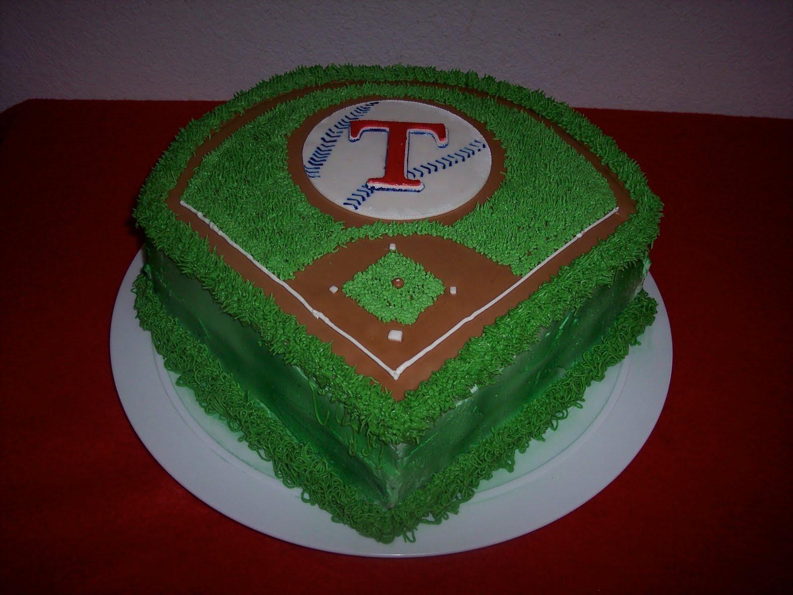 Peachy 12 Rangers Baseball Birthday Cakes For Men Photo Baseball Birthday Cards Printable Inklcafe Filternl