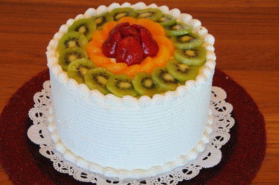 6 Most Beautiful Fruit Birthday Cakes Photo Birthday Cake with