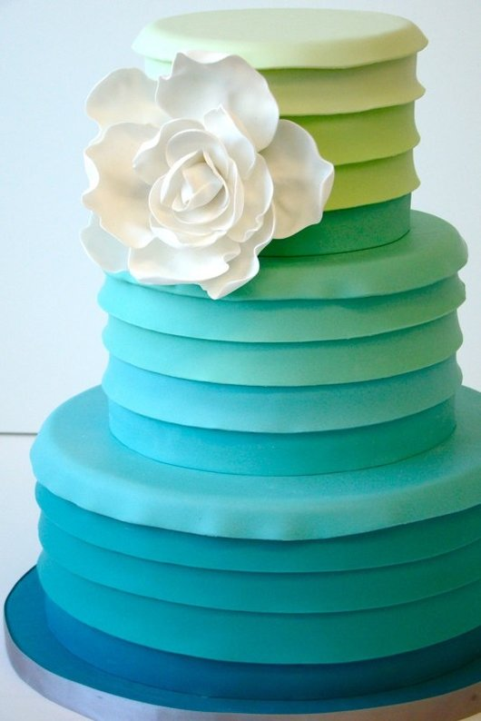 5 Sheet Birthday Cakes Ombre Photo Blue Ombre Birthday Cake Pink