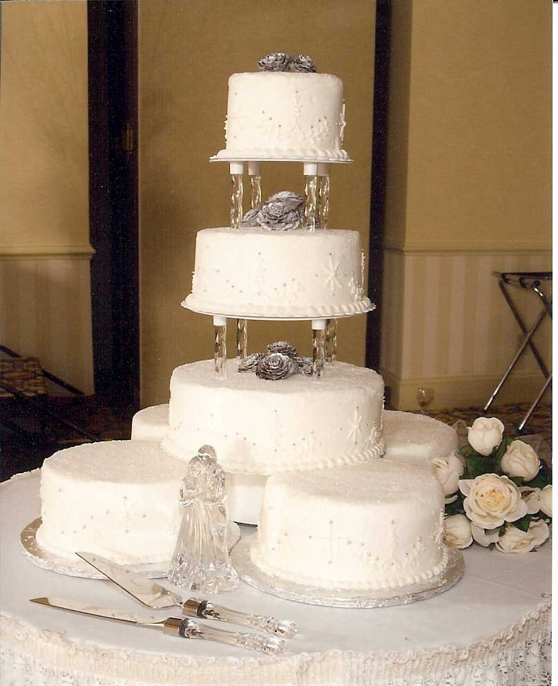 8 Inexpensive Wedding Cakes MD Photo