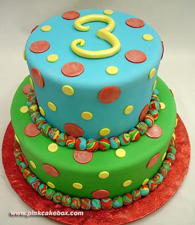 Childrens Birthday Cakes Via 3 Year Old