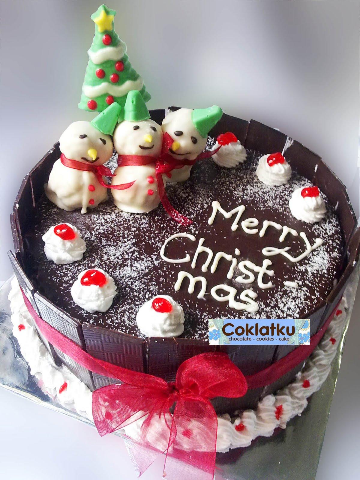Cocolate Cake Decoration Idea
