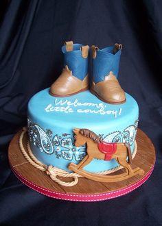... Cowboy Themed · Cowboy Baby Shower Cake ...