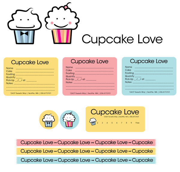 Cupcake Order Form Template