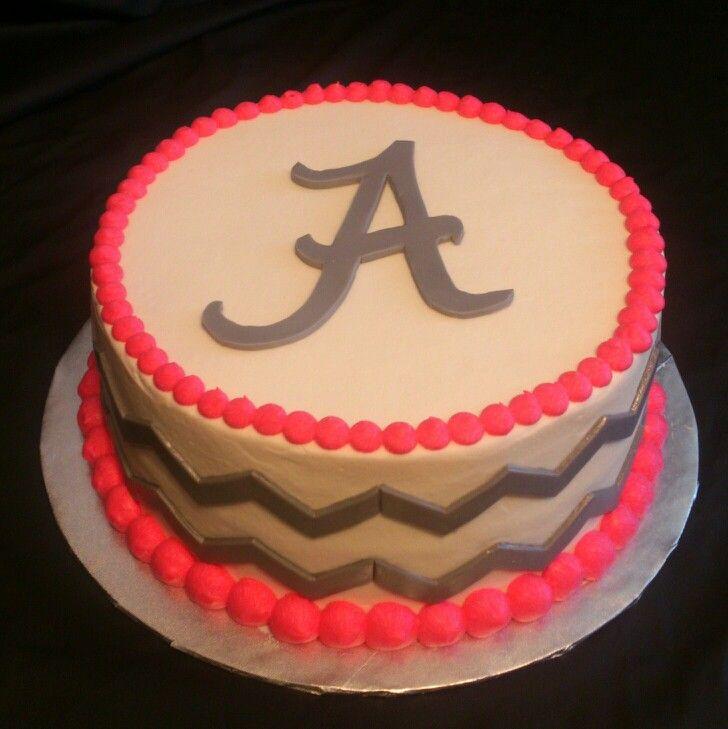 13 Cute Chevron Birthday Cakes Photo Anchor And Chevron Birthday