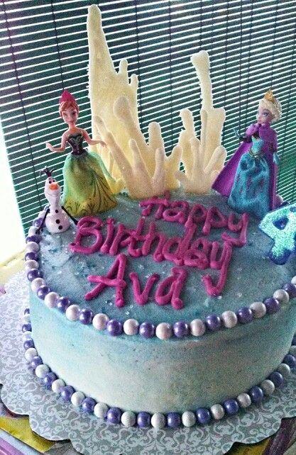 Disney Frozen Birthday Cake Publix