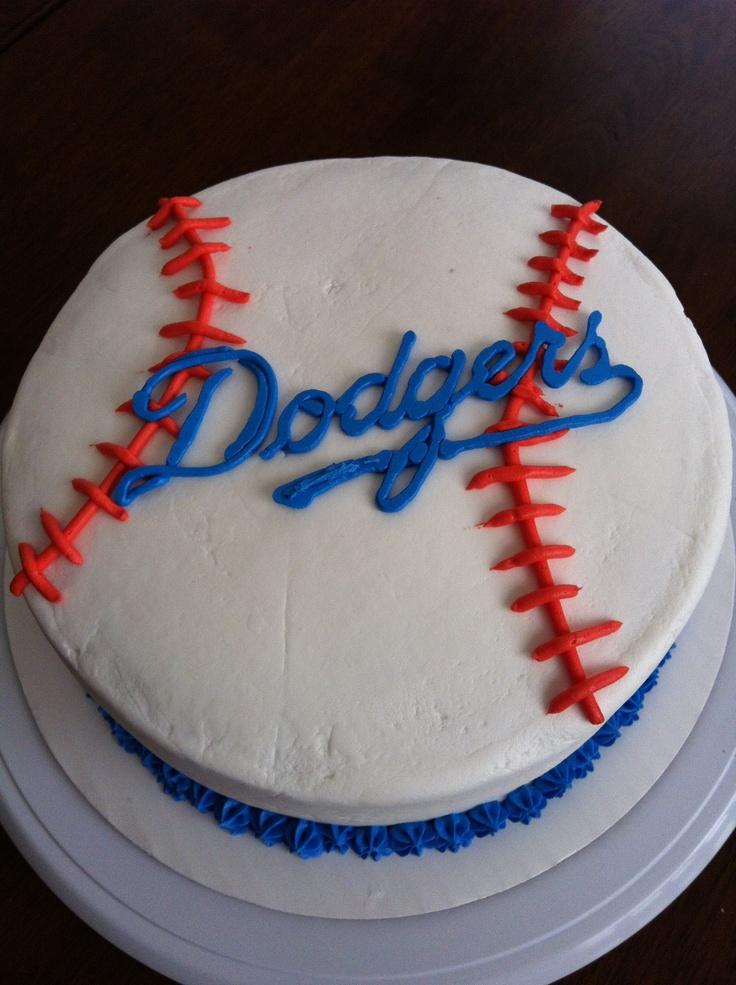 Tremendous 11 Dodgers Birthday Cupcakes Photo Dodgers Birthday Cake Funny Birthday Cards Online Benoljebrpdamsfinfo