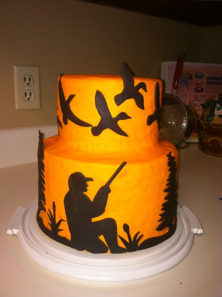 6 Hunting Cakes Ideas Photo Hunting Camo Birthday Cake Hunting