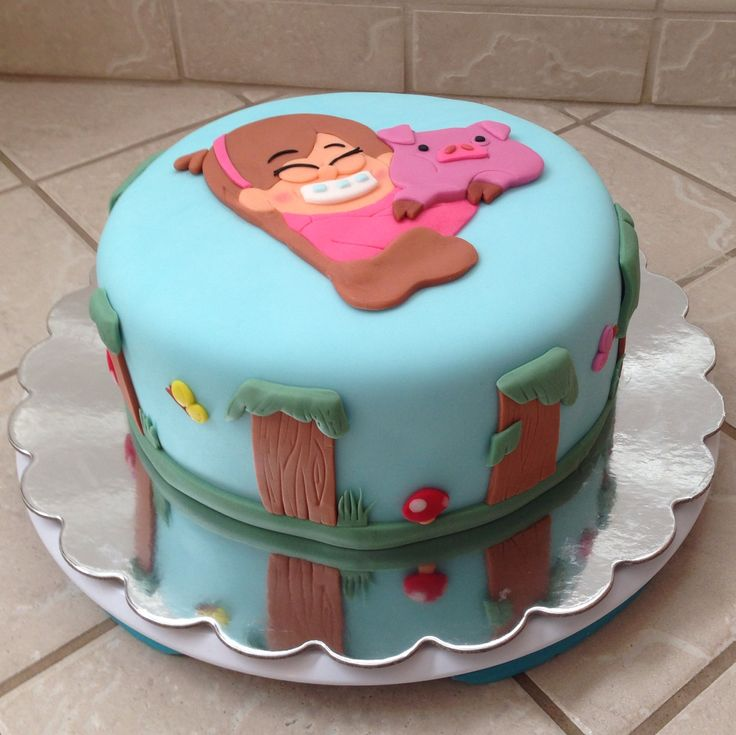 9 Gravity Falls Cakes For Adults Photo Gravity Falls Cake Gravity