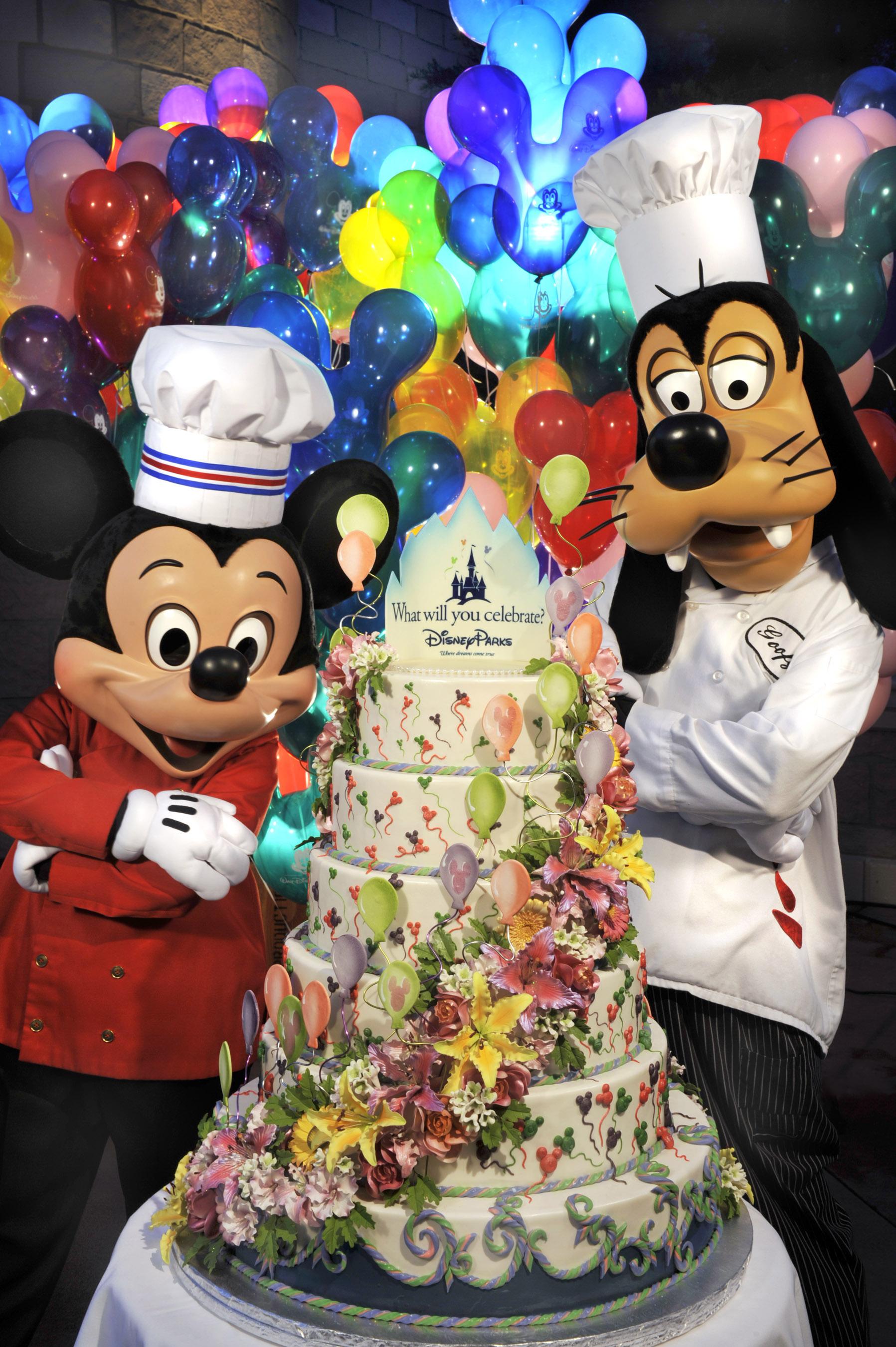 8 Birthday Cakes Walt Disney Photo Walt Disney World Birthday Cake
