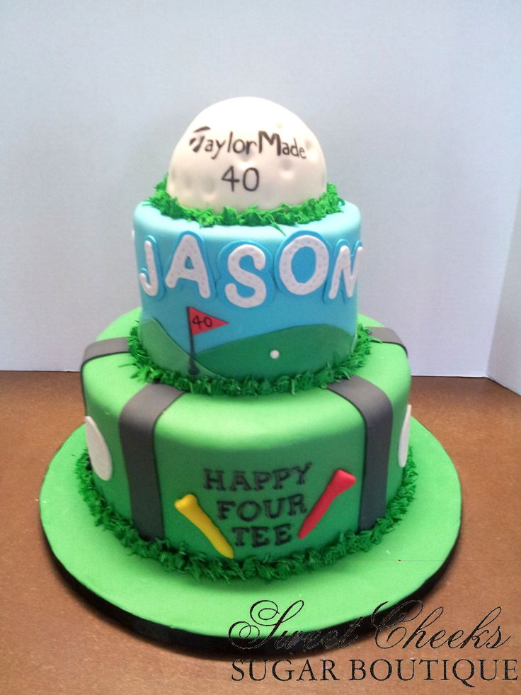 Wondrous 9 40Th Golf Birthday Cakes For Men Photo Happy Birthday Golf Funny Birthday Cards Online Bapapcheapnameinfo