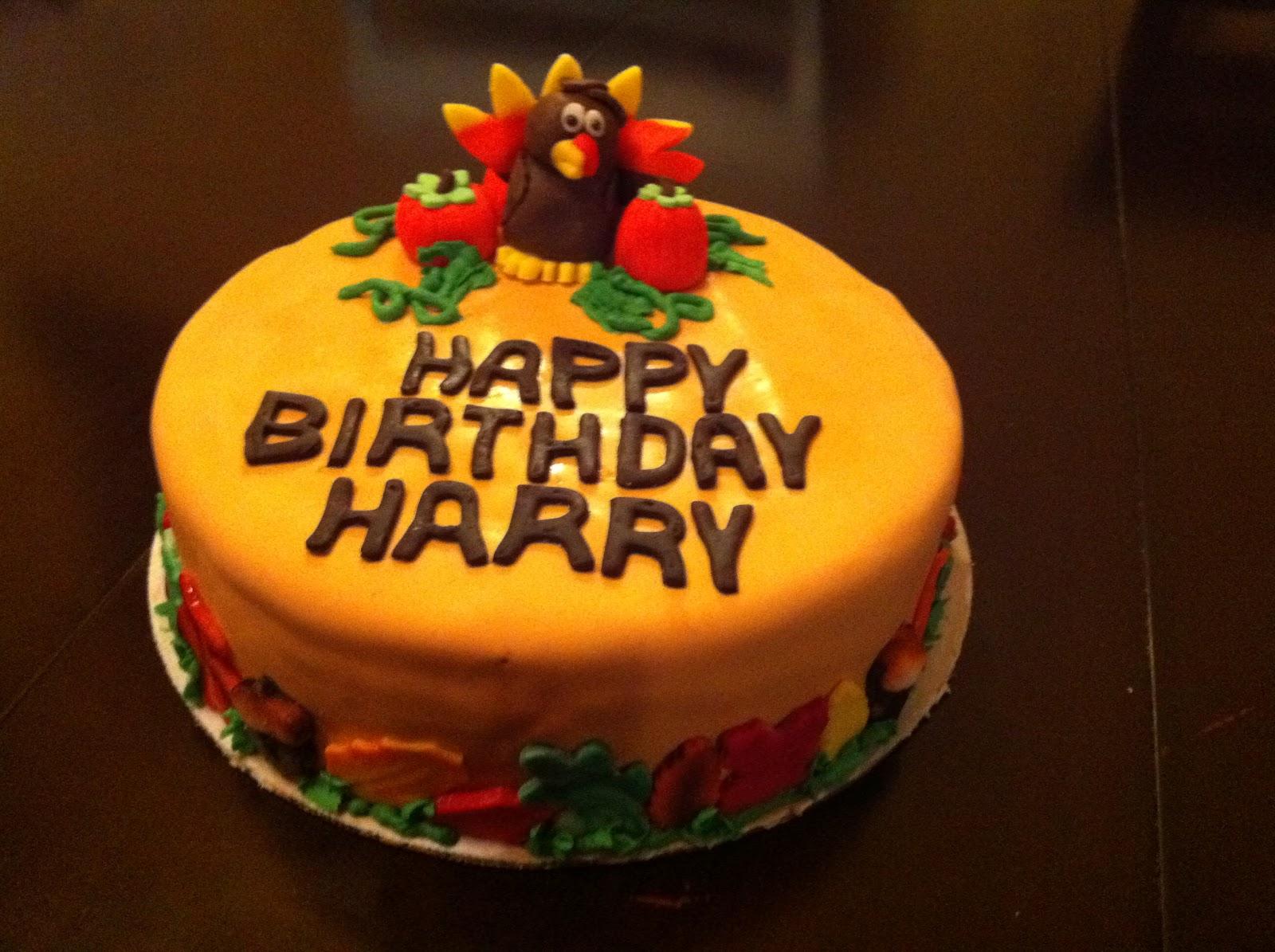 10 Fall Birthday Cakes Carrot Photo Happy Fall Birthday Cake