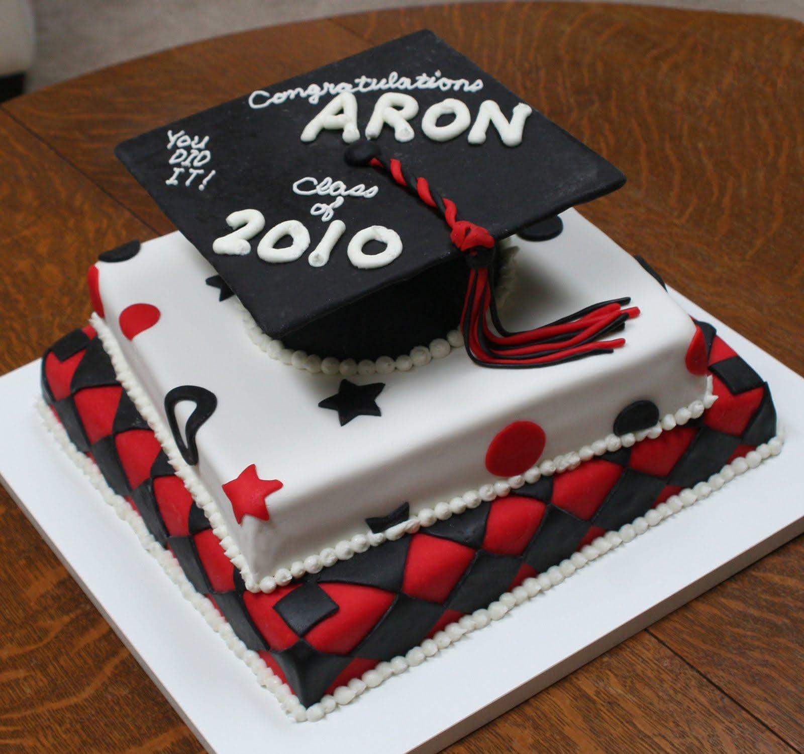 9 Unusual High School Graduation Cakes Photo High School