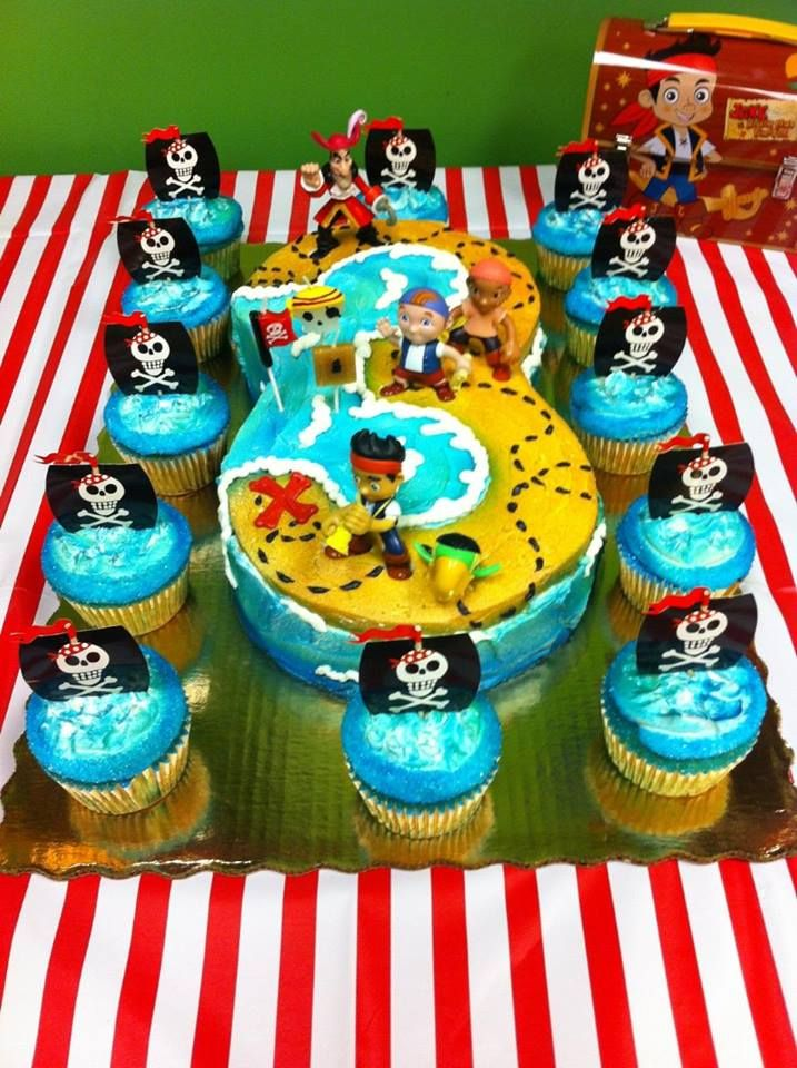 13 Baby First Birthday Cakes Jake And The Neverland Pirates Photo